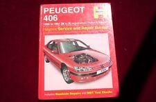 Haynes  Peugeot 406  Petrol  Diesel 1996 to 1997 Manual Hardback