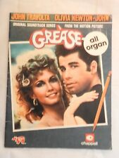 Grease - Original Soundtrack Songs from the Motion Picture All Organ film cover