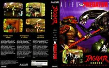 Alien VS Predator Atari Jaguar Replacement Game Case Box + Cover Art (No Game)