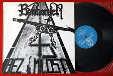 BOMBARDER BEZ MILOSTI 1991 SPEED THRASH METAL ULTRA RARE PRIVATE EXYUGO LP MINT