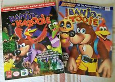Lot of 2 Strategy Guides for Banjo-Kazooie & Banjo-Tooie N64 Nintendo Power