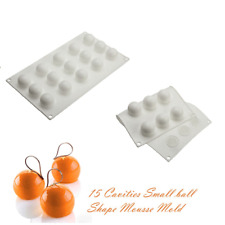Baking Tools 3D Silicone Mousse Molds 15 Hole Sugar Candy Chocolate Cake Mould