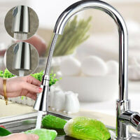 Kitchen Sink Mixer Taps Pull Out Single Lever Chrome Brass Spray Mono Tap Faucet