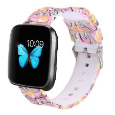For Fitbit Versa Band Soft Silicone Strap Adjustable Size Replacement Wristband