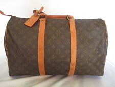 AUTH Louis Vuitton Monogram KEEPALL 45   Travel Bag -**Vintage**