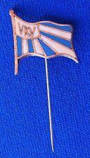VKV Vukovar Croatia - marine ship flag yachting, nautical -vintage pin badge !!