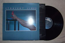 Straight Lines - self titled vinyl record 1st press 1980 Canadian Epic press