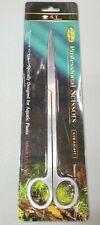 "10"" St Aquarium Scissors Straight Blade Fish Tank Marine Aquatic Plants Craft"