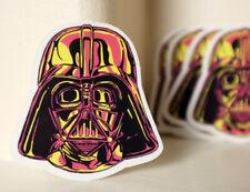 """Stormtrooper Vintage Retro Head Mask style Fan art 2.5/"""" Decal sticker #4073"""
