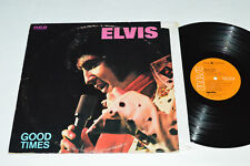 ELVIS PRESLEY Good Times LP 1974 RCA Victor Canada Orange CPL1-0475 VG/VG Cutout