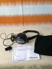 Original Sony MDR-NC7 Active Noise Cancelling Headphones Headset Black