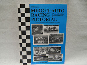 Midget Auto Racing Pictorial by Crocky Wright