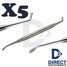 X5 Dental 4mm Bone Spoon Graft Packer Periodontal Double Ended Surgical Implant