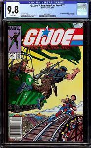 G.I. Joe A Real American Hero #37...CGC 9.8 NM/M...Newsstand copy