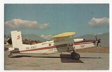 Royal Nepal Airlines Pilatus PC-6/B2-H2 Turbo Porter Aviation Postcard, A767