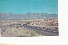 The Senic West Highway Through  Nevada  Unused Chrome Postcard 773