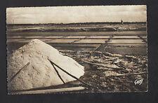 ASSERAC (44) MOULIN à VENT aux MARAIS SALANTS de PONT D'ARMES en 1962