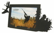 Goose hunting black metal 5x7H picture frame