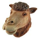 #Animales NATURAL# Gomilla MÁSCARA COMPLETA León Vaca cebra Caballo búho Camel