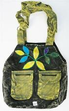 R357 New Trendy & Artistic Shoulder Drop Cotton Bag Hand Made in Nepal