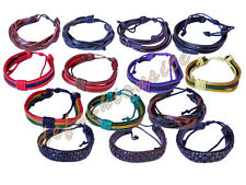 Modeschmuck-Armbänder im Freundschafts-Stil aus Leder