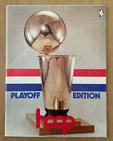 1977-78 NBA FINALS SEATTLE SUPERSONICS @ WASHINGTON BULLETS BASKETBALL PROGRAM