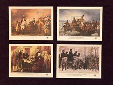 1976 USA #1686-1689 Bicentennial Souvenir Sheets with Envelope