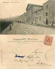 Cartolina di Moncenisio, chiesa e ospizio - Torino, 1901