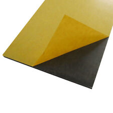 Neoprene EPDM Blend Foam Sheet / Adhesive Backed / Squares & Strips in all sizes