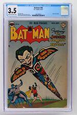 Batman #66 - DC 1951 CGC 3.5 Joker cover and story.