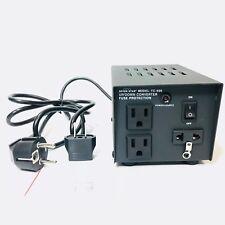 TC-500 500W Watt Heavy Duty Voltage Converter 110 to 220 Volt Transformer 220v