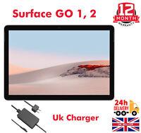 Microsoft Surface Go 1, 2 64GB/128GB - Wi-Fi, 10-in Silver Intel Pentium A Grade
