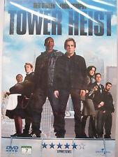 Tower Heist (DVD, 2012) NEW SEALED (Nordic Packaging) Region 2 PAL
