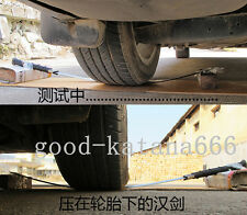 "SHARP HIGH QUALITY CHINA SWORD ""HAN JIAN"" KATANA MANGANESE STEEL BLADE"