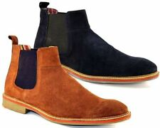 Suede Slip On Boots for Men