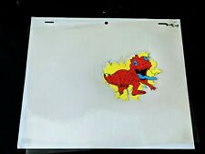 The Real Ghostbusters 1987 Animation Production GHOST DINO Cel DiC