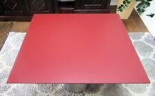 HPL Platte Tischplatte 8mm 953 x 850 mm Wine Red beidseitig TRESPA® Meteon®