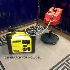 CHAMPION MODEL #73536i 2000W INVERTER GENERATOR 3 GALLON EXTEND RUN FUEL SYSTEM