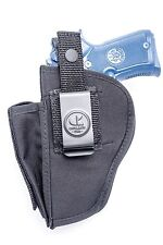 Nylon OWB Belt Holster with Mag Pouch for Ruger P93 P97 P345