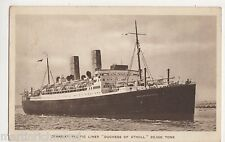 Canadian Pacific Liner Duchess of Atholl Shipping Postcard, B570