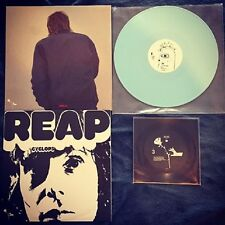 White Fence Cyclops Reap Baby Blue Colored Vinyl Record LP Castleface Tim Presly