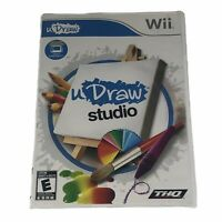 uDraw Studio wii *Game Only* Complete w/Manual Tested Works