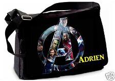 SAC ECOLE GRAND MODELE  REF 70 Les Avengers personnalisé prénom personnalisable