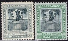 BARBADOS 1906 STAMP Sc. # 102/3 MH