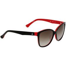 Calvin Klein Plastic Frame Grey Gradient Lens Ladies Sunglasses CK4258S