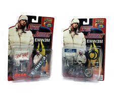 Vintage 2000 Street Jammers Eminem Slim Shady Die Cast Bicycle BMW & Skateboard