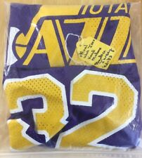 Karl Malone Official Utah Jazz Used Practice Jersey 92-93 Very Rare