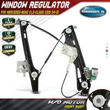 Window Regulator Front Right W/o Motor for Mercedes-Benz C219 2004-10 2197201046