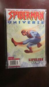 SpiderMan Universe #1 to #3 - Lifeline - VF - 2001