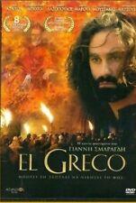 EL GRECO (2007) - Music By Vangelis- GREEK AWARDED -  REGION 2 PAL DVD